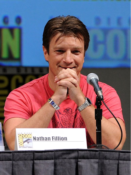 2010 Comic Con Panels Nathan Fillion