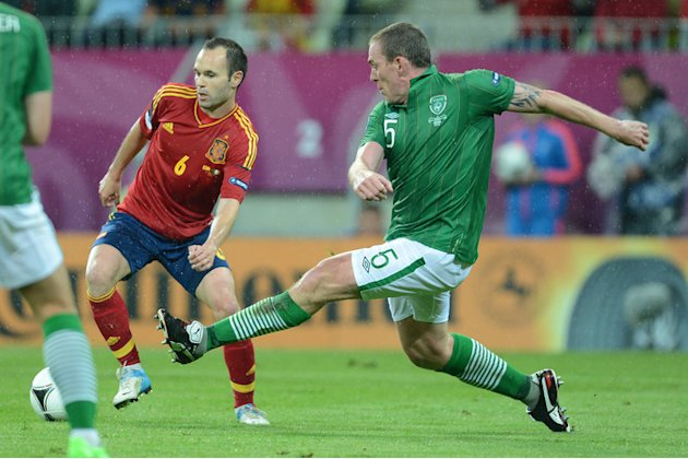 Irish Defender Richard Dunne&nbsp;&hellip;