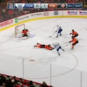 Steve Mason Save on Nazem Kadri (07:04/2nd)
