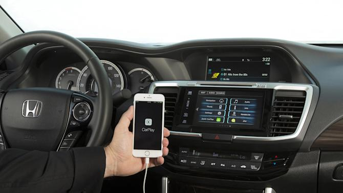 The 2016 Honda Accord with support for Apple Car Play