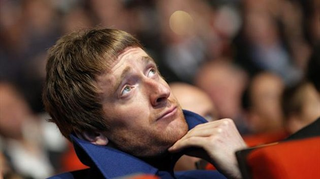 2012 Bradley Wiggins alla presentazione del Tour de France