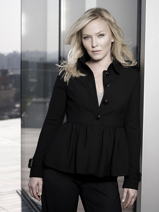 Kelli Giddish stars as Det. Amanda Rollins in &quot;Law &amp; Order: SVU.&quot; 