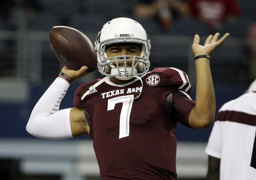Ex-A&M QB Kenny Hill says he's headed to TCU