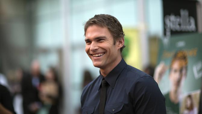 """Cast member Scott poses at the premiere of """"Just Before I Go"""" in Los Angeles"""