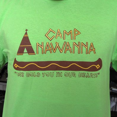 "Camp Anawanna ""We Hold You In Our Hearts"" Tee"