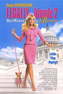 Poster of Legally Blonde 2: Red, White and Blonde