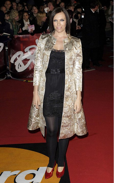 Toni Collette at The Mastercard Brit Awards 2007. 