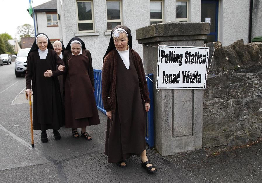 Ireland votes on legalizing gay marriage; Church is opposed