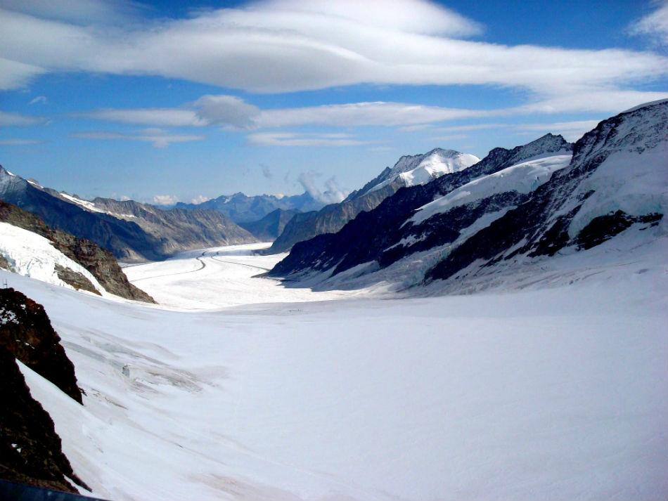 The Aletsch Glacier