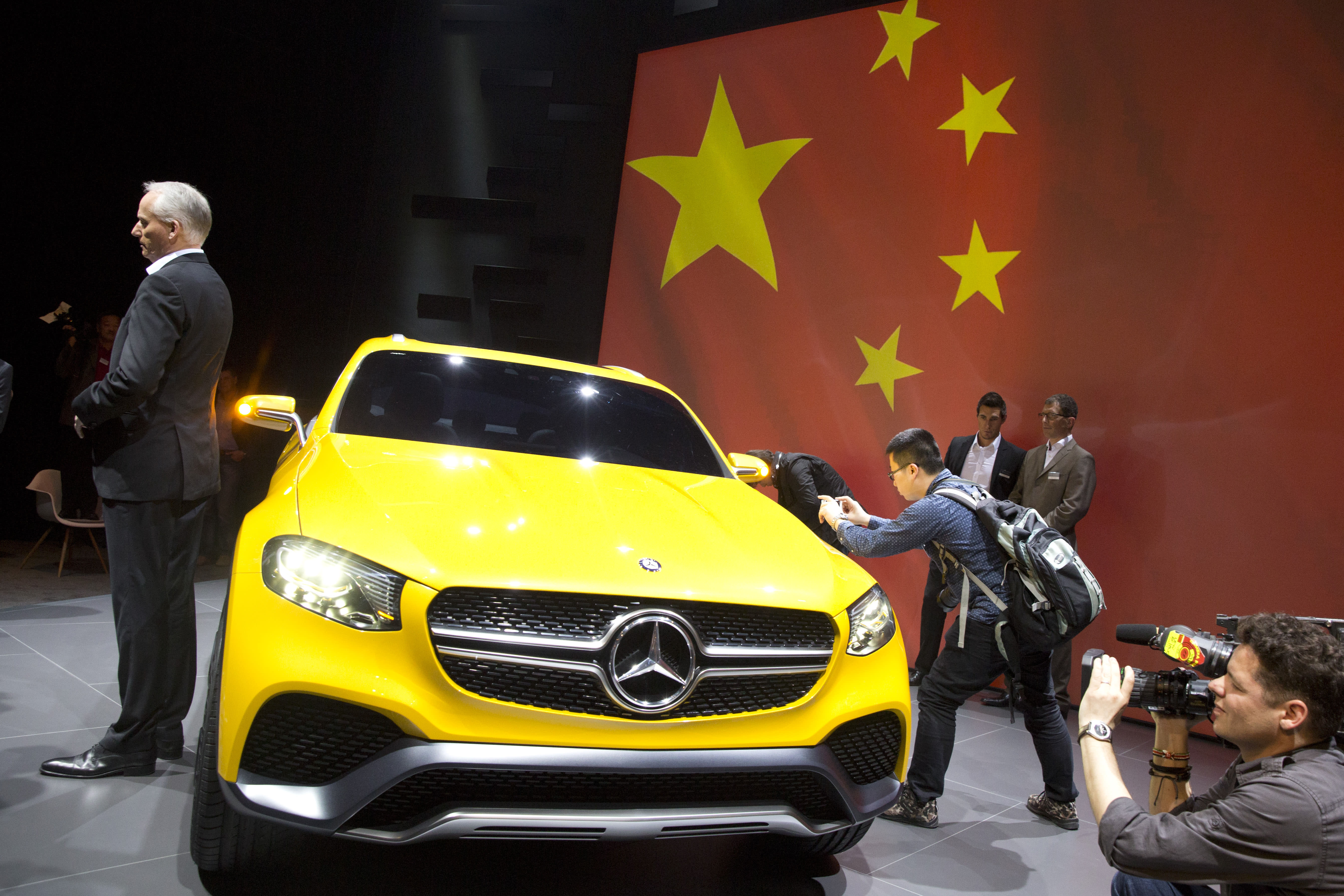 China fines Mercedes $57 million in price-fixing probe