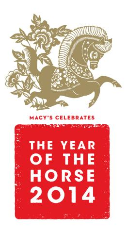 Macy's Celebrates Lunar New Year 2014
