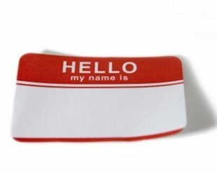 Hello, my name is....