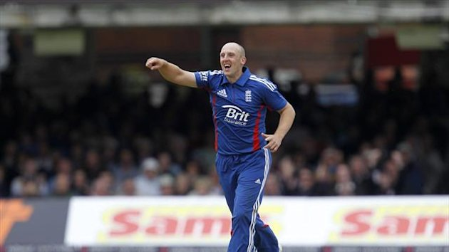 James Tredwell has picked up seven wickets during the ongoing ODI series