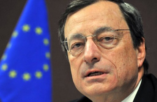 &lt;p&gt;European Central Bank chief Mario Draghi, seen hee on October 13, will face tough questions from German lawmakers over his euro-crisis strategy, after his plan to buy bonds of struggling nations was attacked in Europe&#39;s powerhouse.&lt;/p&gt;