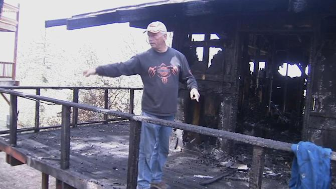 Off-duty park ranger hailed as hero for rescuing neighbor from Idyllwild house fire