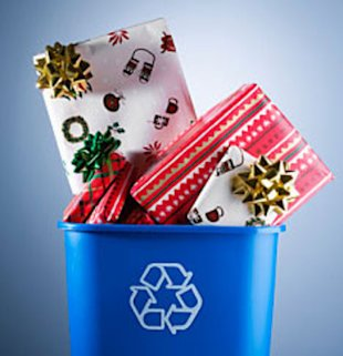 Holiday recycling