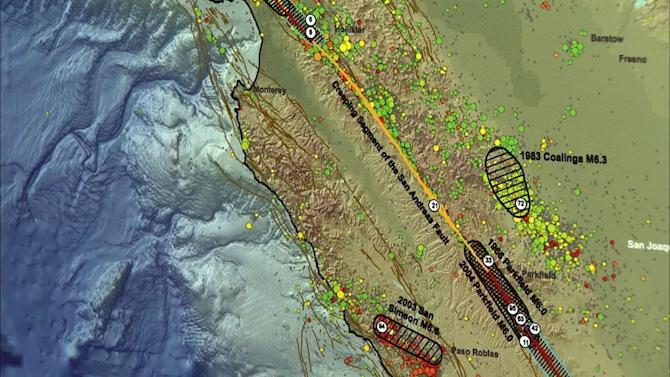 California's San Andreas Fault could rupture, cause mega-quake - study says