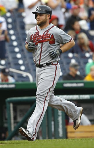 Sheets extends streak, Braves beat Nationals 4-0