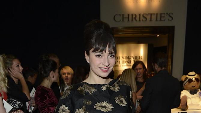 Gizzi Erskine seen at the Designer Pudsey 2012 Collection auction in association with BBC's Children in Need at Christie's Auction House on Thursday, Nov. 15, 2012, in London. (Photo by Jon Furniss/Invision for Children in Need/AP Images)