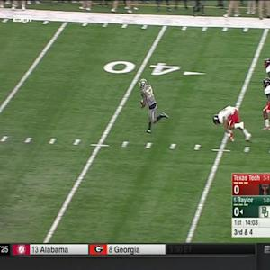 10032015 Texas Tech vs Baylor Football Highlights