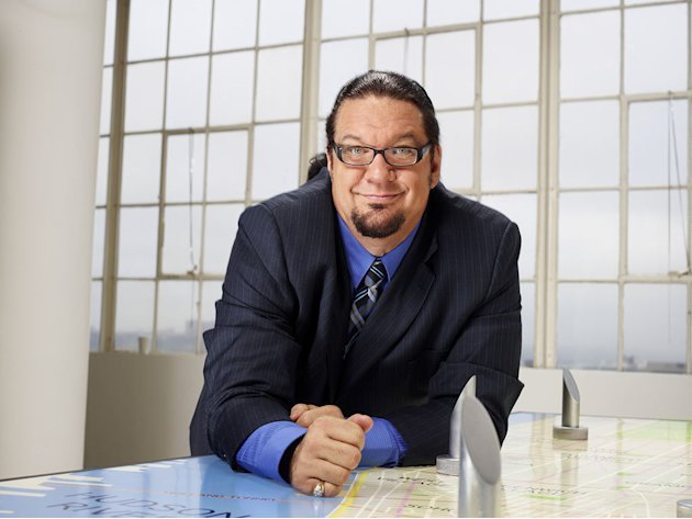 Penn Jillette competes in the 12th season of &quot;The Celebrity Apprentice.&quot; 
