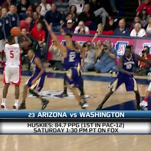 Arizona-Washington men's basketball game preview
