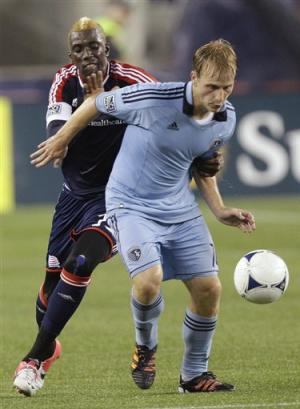Bunbury gives Sporting KC 1-0 win over Revolution