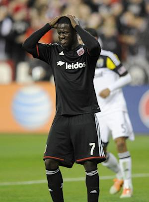 DC United forward Johnson suspended