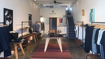 Matiere's Edgy-Meets-Athletic Menswear Pops Up on West Third Street