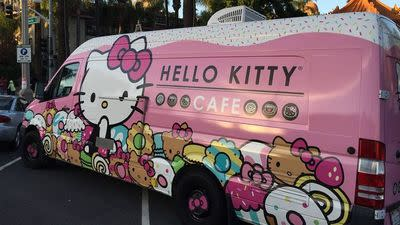 Brace — The Hello Kitty Cafe Truck Infiltrates Las Vegas with Cuteness Galore