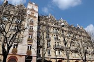File photo. The Plaza-Athenee hotel in Paris is part of the luxury Dorchester Collection. The origins of the Dorchester Collection lie in the purchase of the Dorchester hotel, in London, by the Sultan of Brunei in 1986