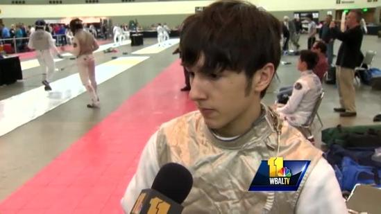 Junior Olympians compete at fencing championships