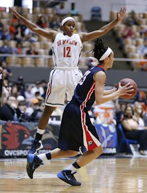 UT Martin women beat Belmont 78-66 for OVC title