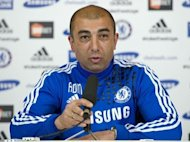 Chelsea captain John Terry has given interim manager Roberto Di Matteo, seen here in April 2012, his stamp of approval as the club prepares for Saturday's FA Cup final challenge against Liverpool