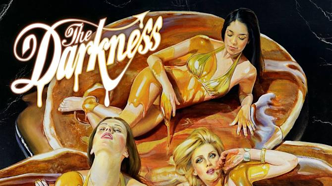 """This CD cover image released by Wind up Records shows the latest release by The Darkness, """"Hot Cakes.""""   (AP Photo/Wind up Records)"""