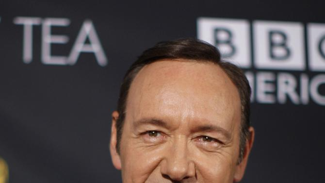 Actor Kevin Spacey arrives to the BAFTA Los Angeles TV Tea Party for nominees of the Primetime Emmy Awards in Los Angeles