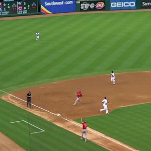 Cron's RBI single