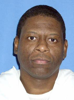 This photo provided by the Texas Department of Criminal Justice shows death row inmate Rodney Reed. Reed, a black Texas death row inmate who claims he had a clandestine relationship with a white woman, but did not rape or kill her, is asking the Supreme Court to take up his case. Reed tells the court that his trial lawyers did a poor job of defending him and suggests the victim's fiance, a local police officer now imprisoned for a sex crime, could have been the killer. (AP Photo/Texas Department of Criminal Justice)