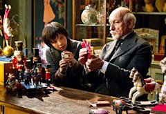 Asa Butterfield and Ben Kingsley | Photo Credits: Jaap Buitendijk/Paramount Pictures