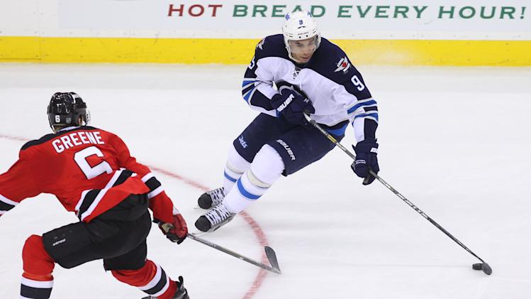 NHL: Winnipeg Jets at New Jersey Devils