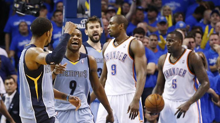 Grizzlies rebound from furious Thunder comeback, even up series…