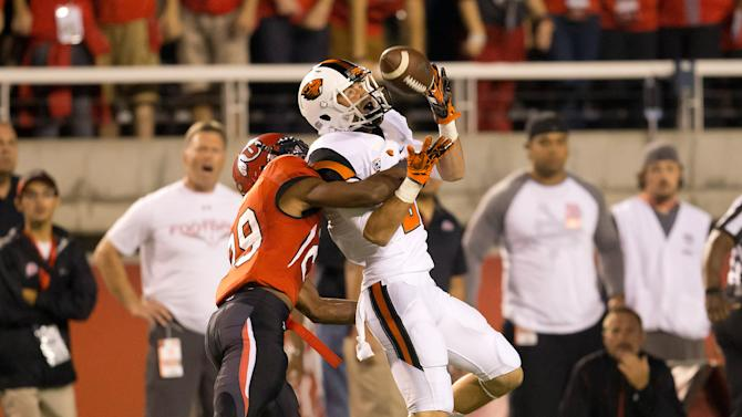 NCAA Football: Oregon State at Utah