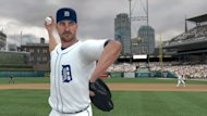 "In this video game image released by 2K Sports, an animated rendering of Detroit Tigers ace Justin Verlander is shown in ""Major League Baseball 2K12."" (AP Photo/2K Sports)"