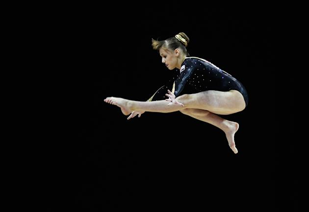 FIG Artistic Gymnastics Olympic Qualification - LOCOG Test Event for London 2012: Day Two