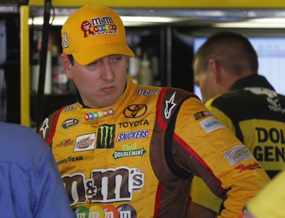 Kyle Busch out to prove Kansas can be tamed