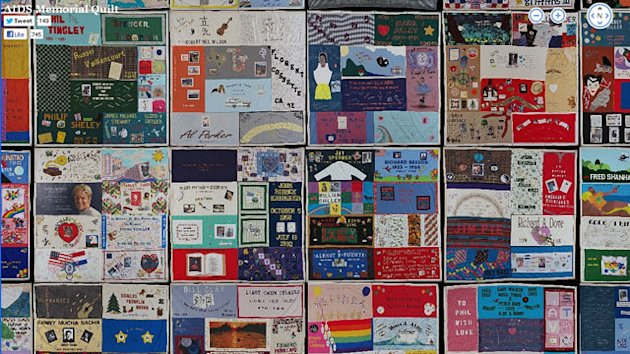 AIDS Quilt Goes Digital: See The Full Quilt Online (ABC News)