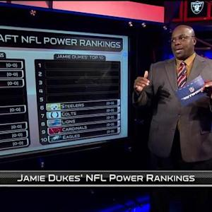 NFL Media's Jamie Dukes' NFL power rankings for 2015