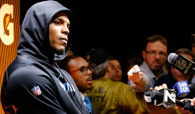 Sports Writers Are Mad At Cam Newton Because They're Bad At Their Jobs