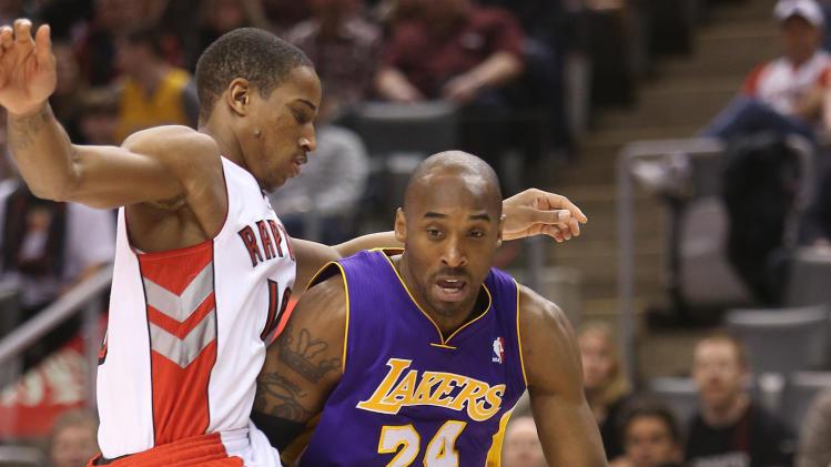 NBA: Los Angeles Lakers at Toronto Raptors