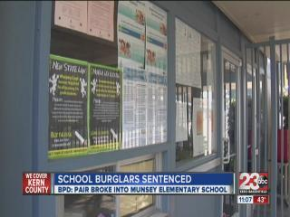 School burglaries sentenced